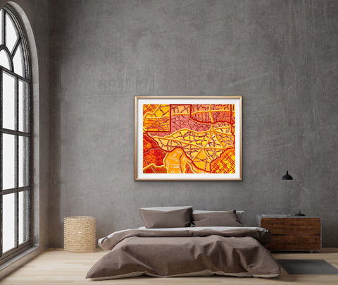 cool-texas-art-for-bedroom