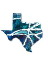 Load image into Gallery viewer, Texas Mini Map Magnets