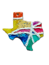 Load image into Gallery viewer, Texas Mini Map Ornaments & Door Hangers