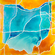 Load image into Gallery viewer, Specialty Collaborative Piece - Ohio Sunset