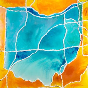 Specialty Collaborative Piece - Ohio Sunset