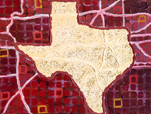 Load image into Gallery viewer, texas state artwork