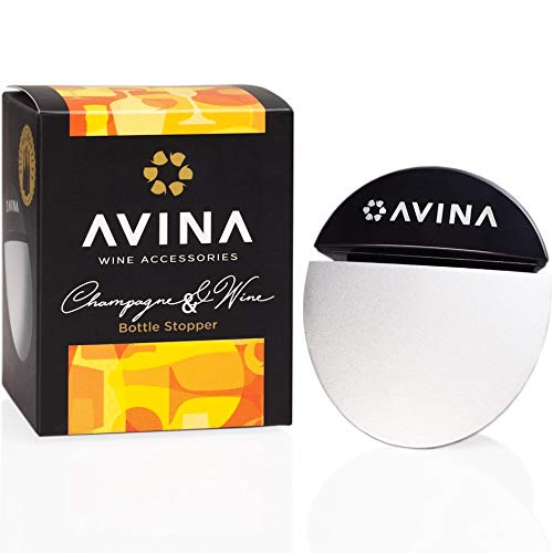 AVINA Premium Locking Champagne & Still Wine Bottle Stopper