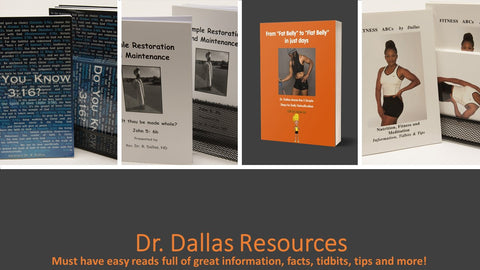 Holistic Health Books by Dr. Dallas