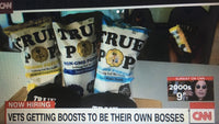 CNN interviews Dallas the veteran entrepreneur owner of True Pop Popcorn