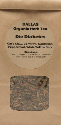 Dr. DALLAS Organic Herbal Tea Blend DIE DIABETES