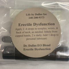 Dr. Dallas EO Blend Erectile Dysfunction