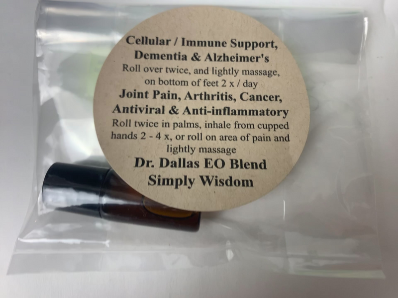Dr. Dallas EO Blend Simply Wisdom