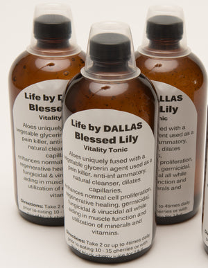 Dr. DALLAS Organic Herbal Elixir BLESSED LILY