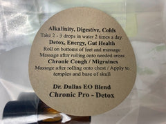 Dr. Dallas EO Blend Chronic Pro - Detox