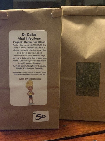 Dr. Dallas Viral Infections Organic Herbal Tea Blend