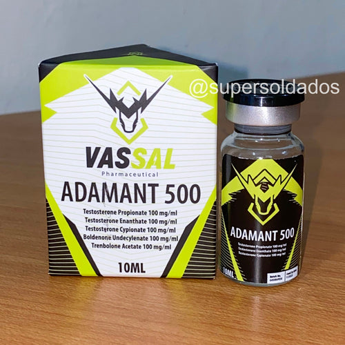 Adamant 500 | Mix de testosteronas, Boldenona, y Trembolona Acetato 500mg/ml 10ml