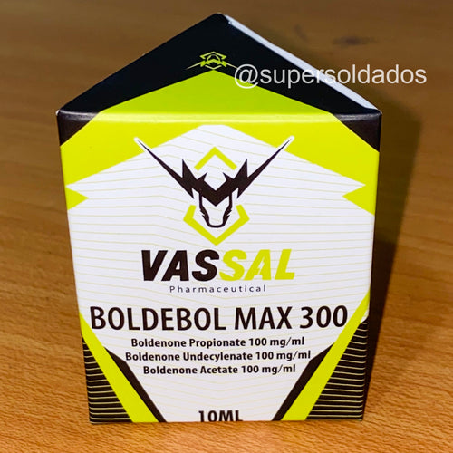 Boldebol Max 300 | Mix de Boldenonas 300mg/ml 10ml