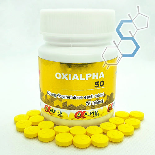 Oxialpha 50 | Oximetolona (Anadrol) 50mg 100 tabletas
