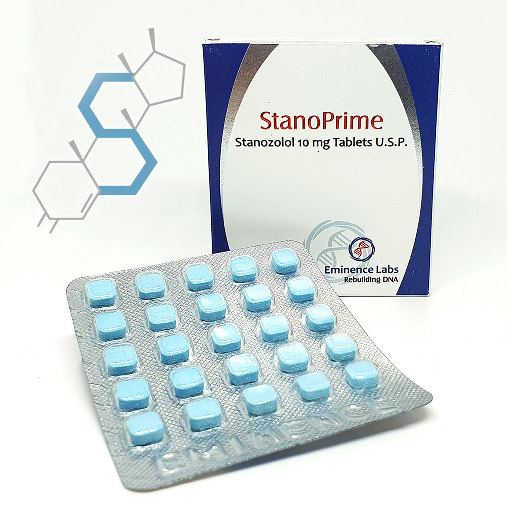 Stanoprime | Winstrol (Estanozolol) 10mg 50 tabletas