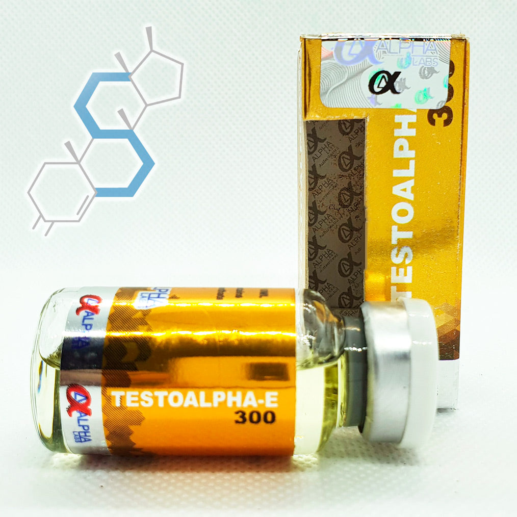 Testoalpha-E300 | Testosterona Enantato 300mg/ml 10ml