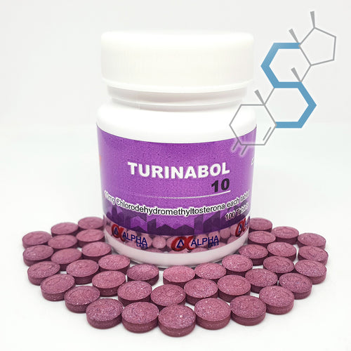 Turinabol | Turinabol (Clorodihidrometiltestosterona) 10mg 100 tabletas