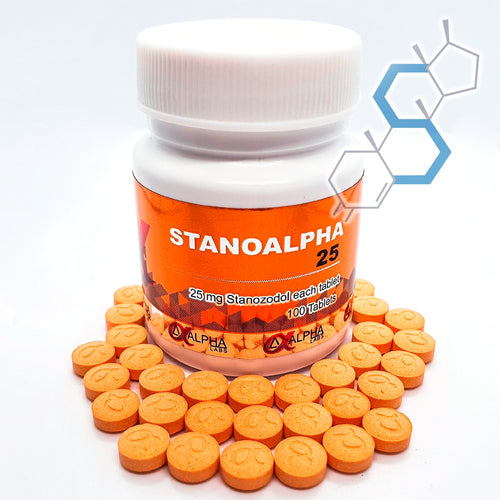 Stanoalpha 25 | Winstrol (Estanozolol) 25mg 100 tabletas