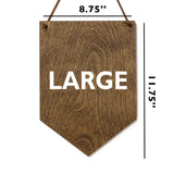 Wag More Bark Less . Wood Banner