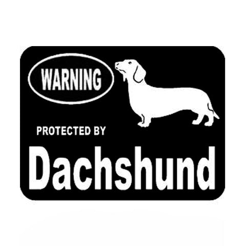 Give fare warning and display your Doxy love with this vinyl auto and window decal - DachshundFan