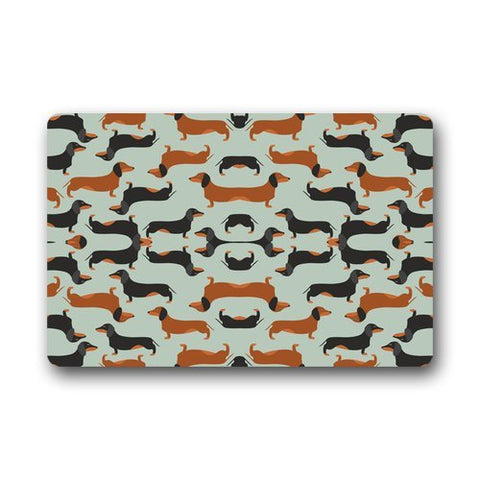 Dachshund door mat, Adorable! 23.6 inches (L) x 15.7 inches (W) - DachshundFan