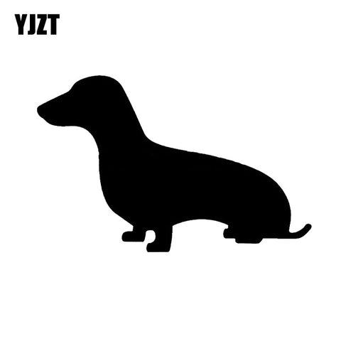 Display Your Doxy Spirit With This Decal 5.91 inches x 3.78 inches - DachshundFan