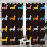 Dachshund Window Treatment - DachshundFan