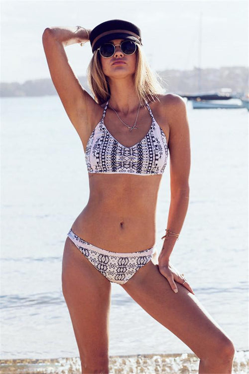 Gypsy Two Piece Floral Print Bikini Set
