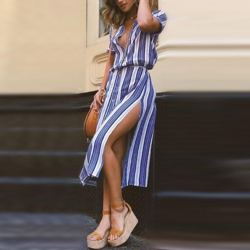 Ada Striped Dress