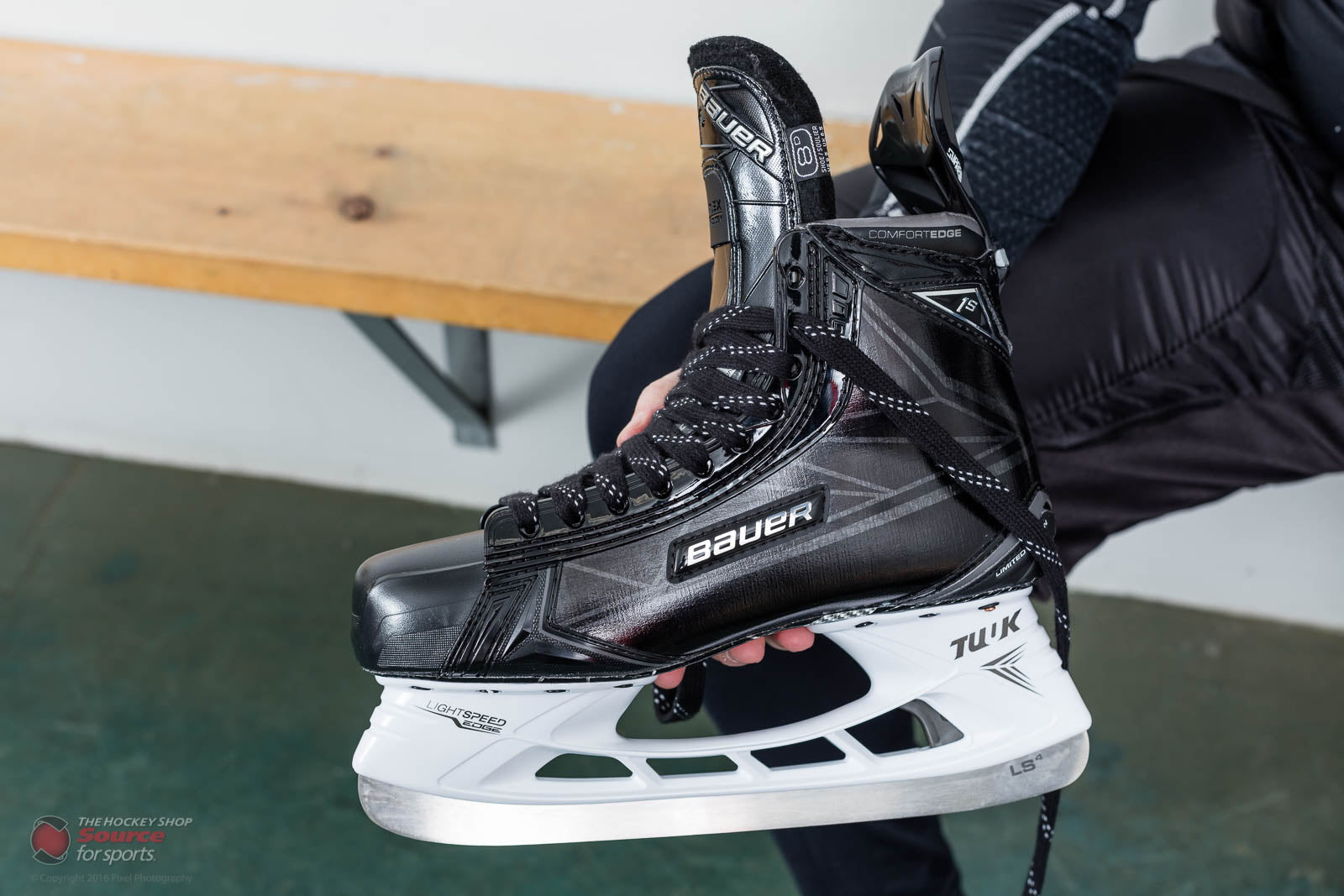 Bauer Supreme 1s Le Skate Review The