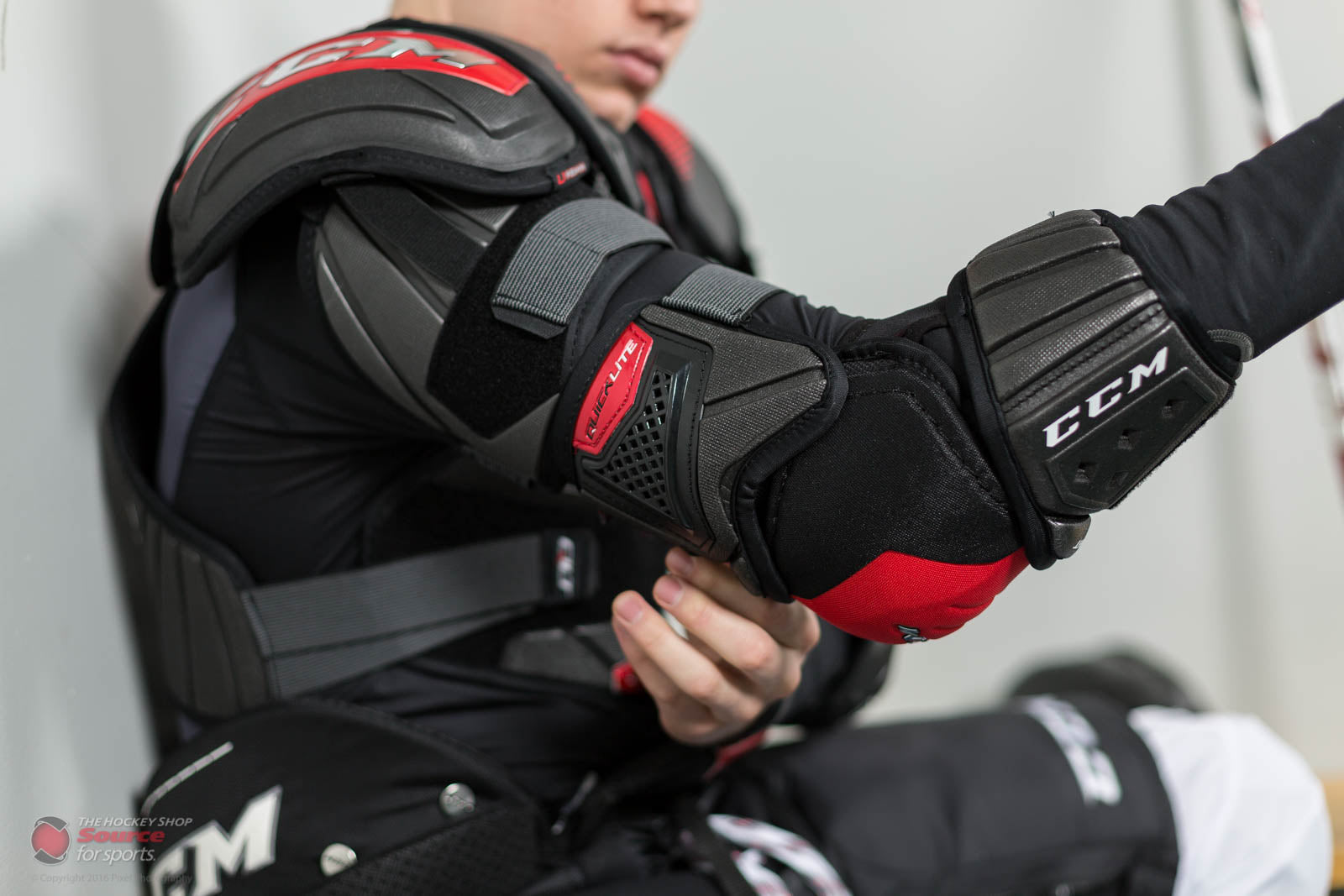 d68a3e07cf4 CCM QuickLite Elbow Pad Review – The Hockey Shop Source For Sports