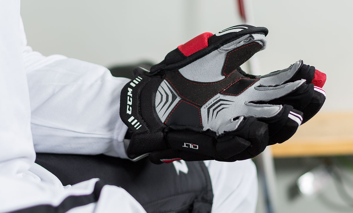 5ede981ec CCM QuickLite Hockey Gloves Review – The Hockey Shop Source For Sports