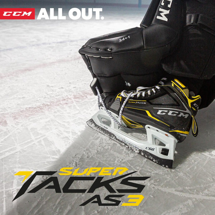 CCM Tacks AS3 Pro Goal Skate Review