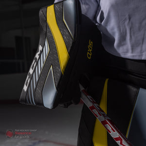 CCM Axis Catcher & Blocker On-Ice Review