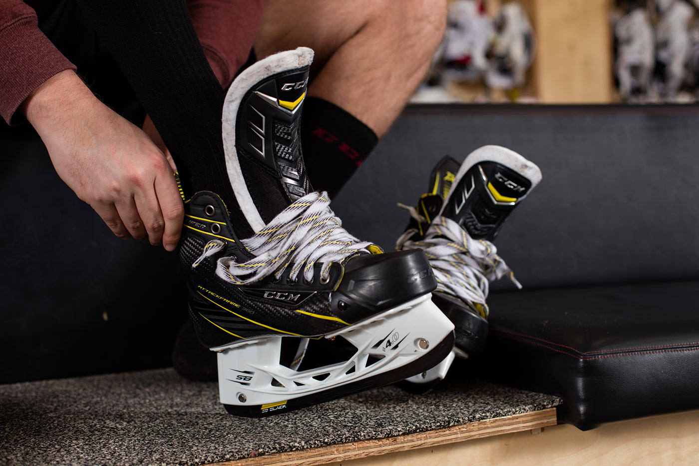 CCM Super Tacks Skate