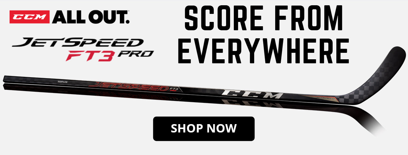 CCM Jetspeed FT3 Pro Stick Collection