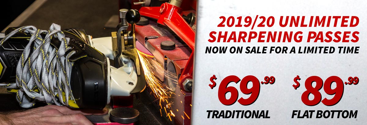 The Hockey Shop Source For Sports skate sharpening