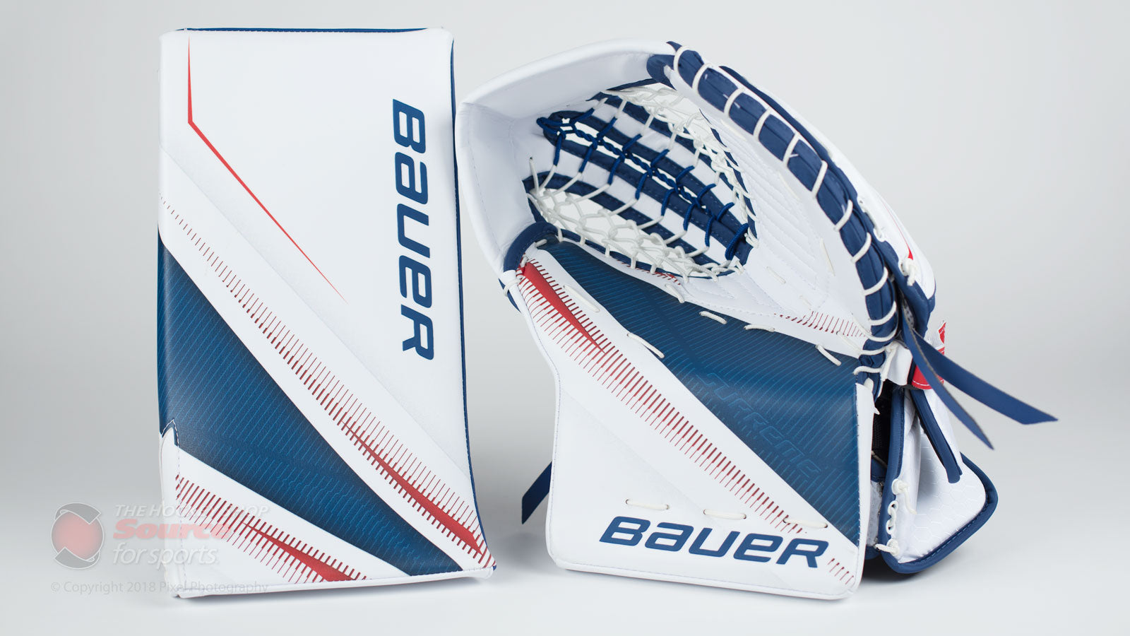 Bauer 2S Pro Blocker and Trapper
