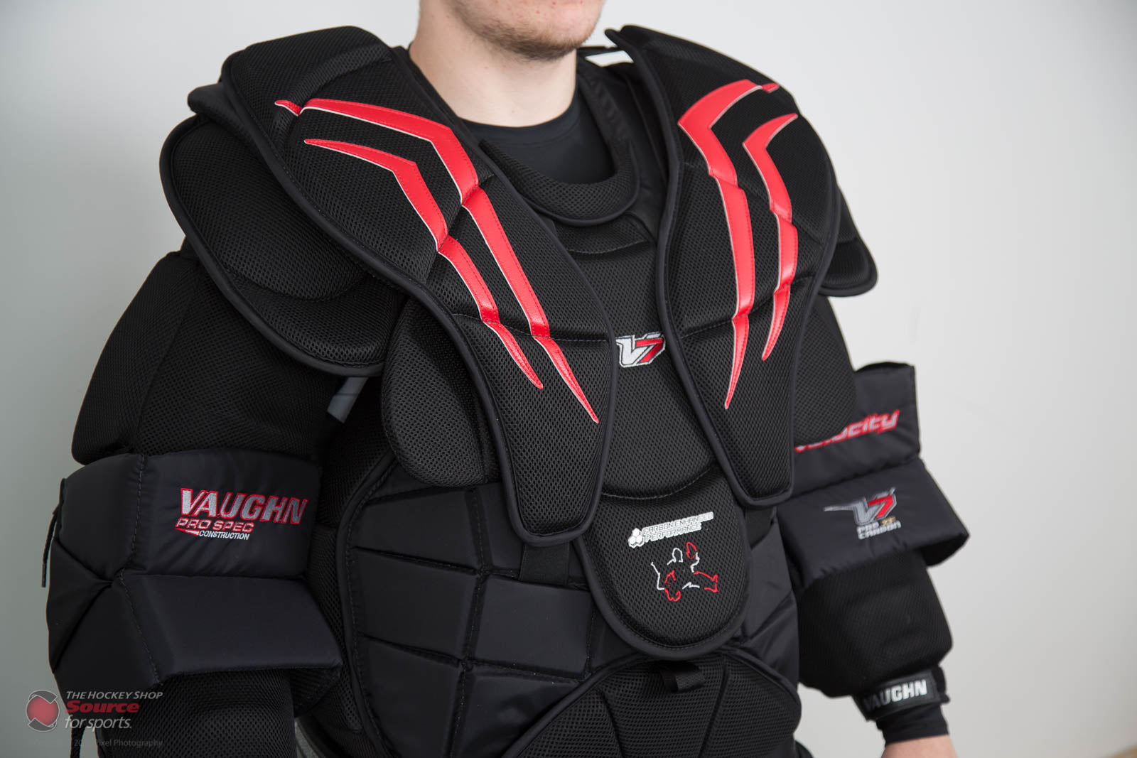 Vaughn V7 XF Pro Carbon Chest Protector - THS Spec