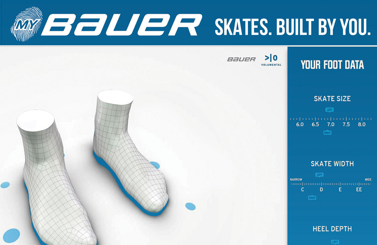 Bauer Custom Hockey Skates