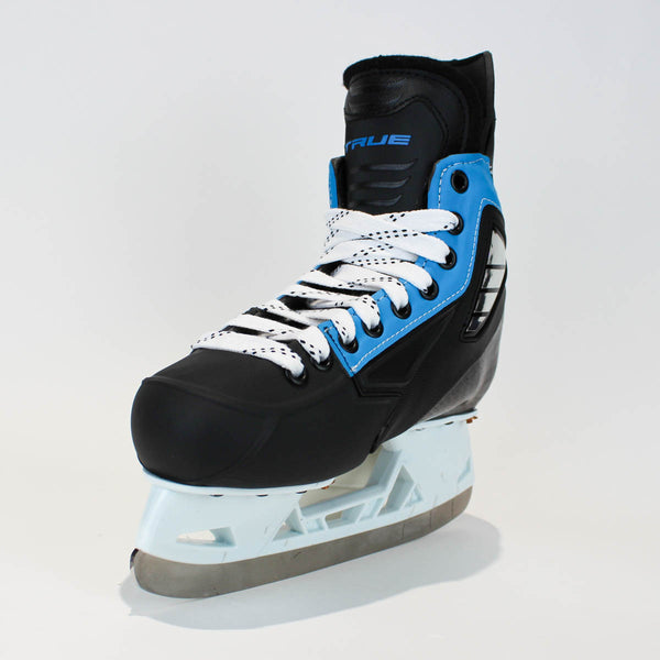 TRUE Player Junior Hockey Skates - Pro Stock - VH Holder - Blue Side - Size 4