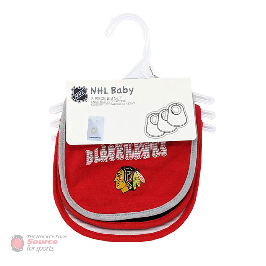 Outer Stuff NHL Fairshot Bib Baby Set - 3 Piece
