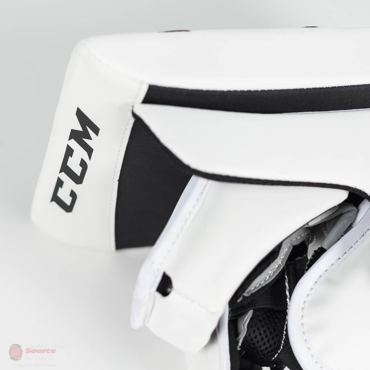 CCM Premier P2.5 Junior Goalie Blocker - Source Exclusive