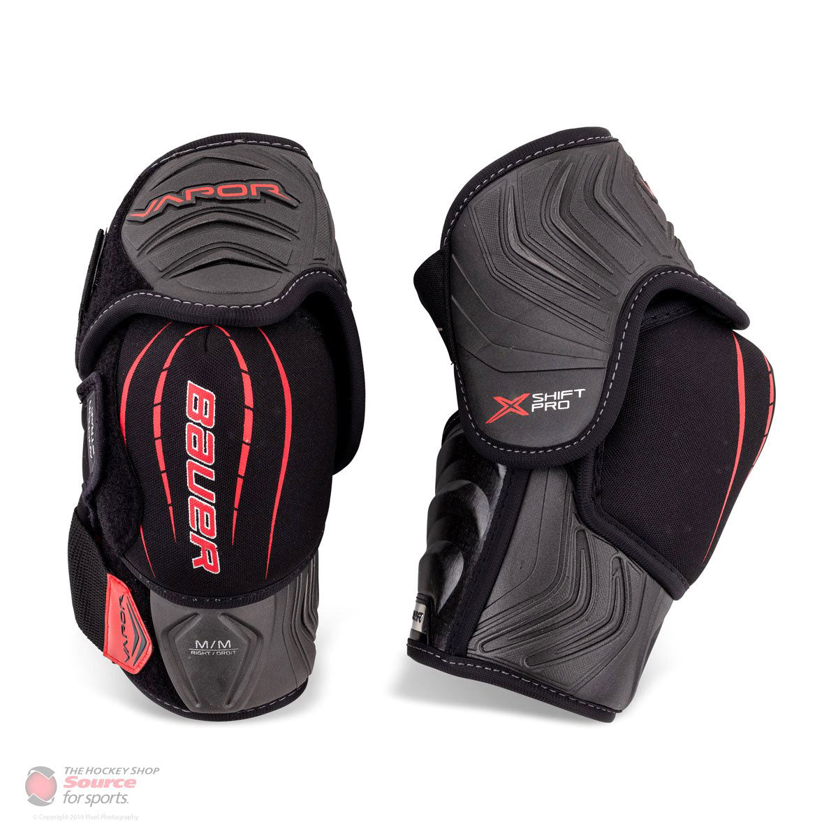 Bauer Vapor X Shift Pro Junior Hockey Elbow Pads (2018)
