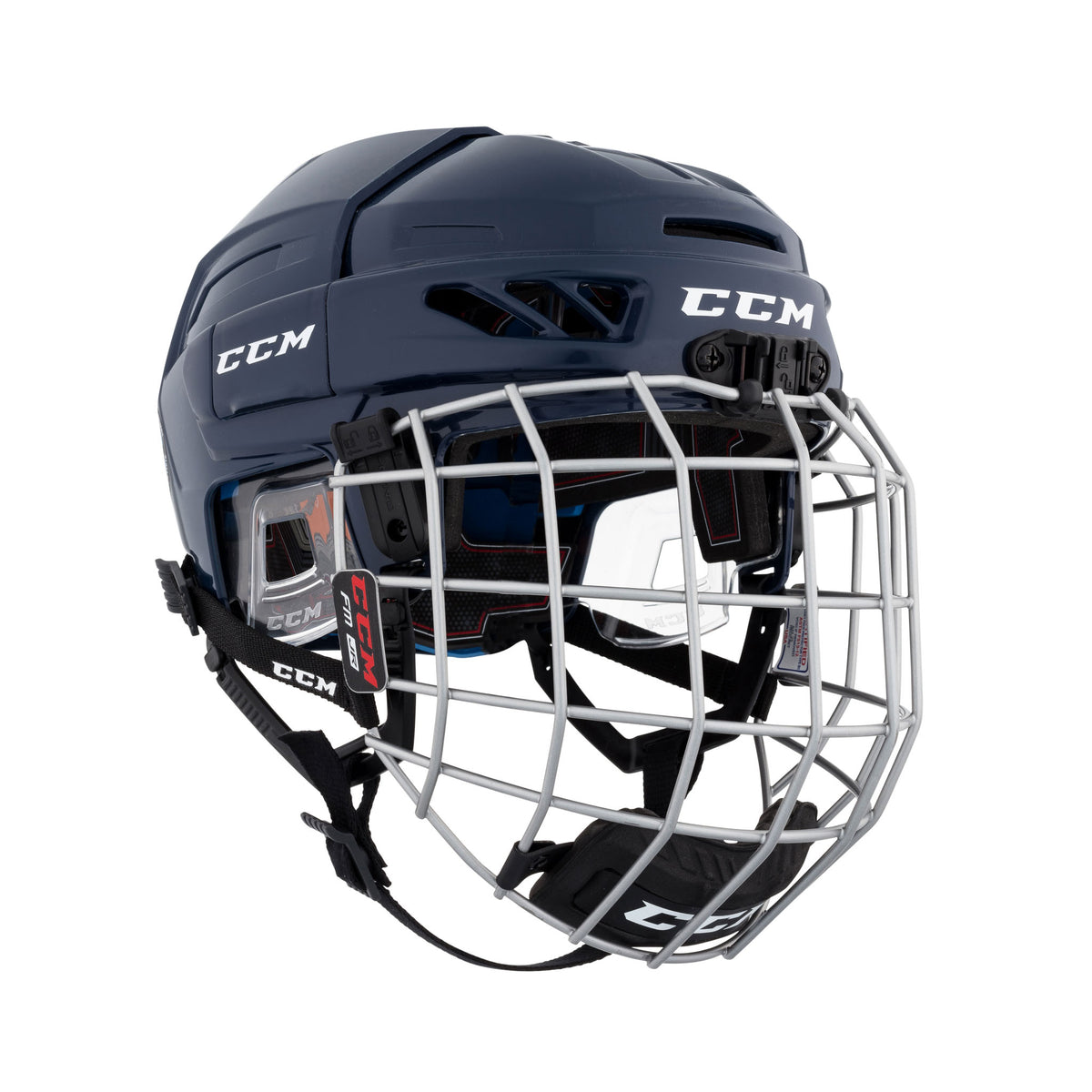 CCM FitLITE 3DS Junior Hockey Helmet / Cage Combo