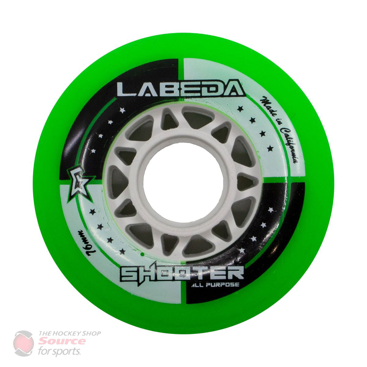 Labeda Shooter Roller Hockey Wheels - Green (78A)