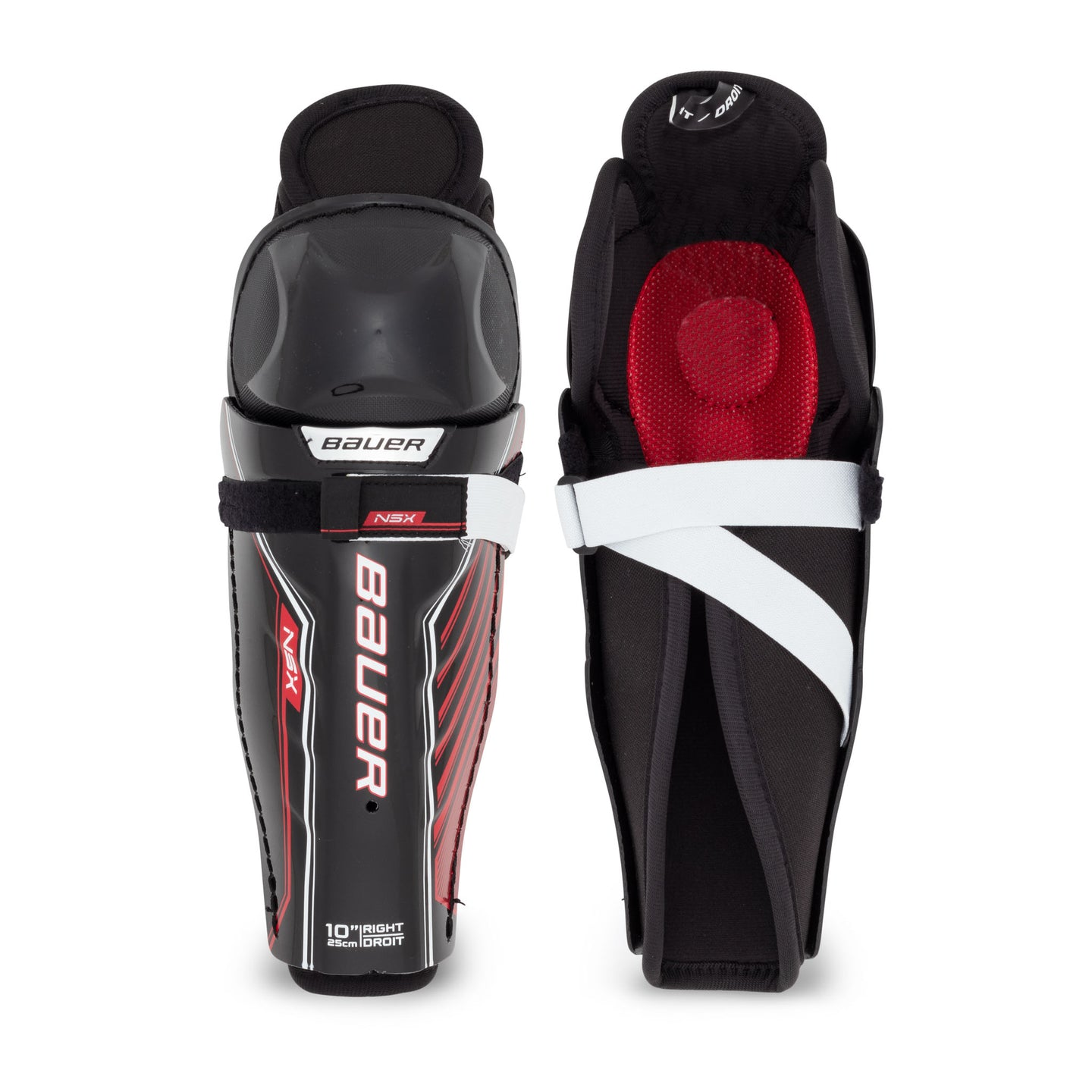 Bauer NSX Youth Hockey Shin Guards