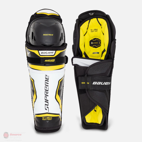 Bauer Supreme Matrix Junior Hockey Shin Guards