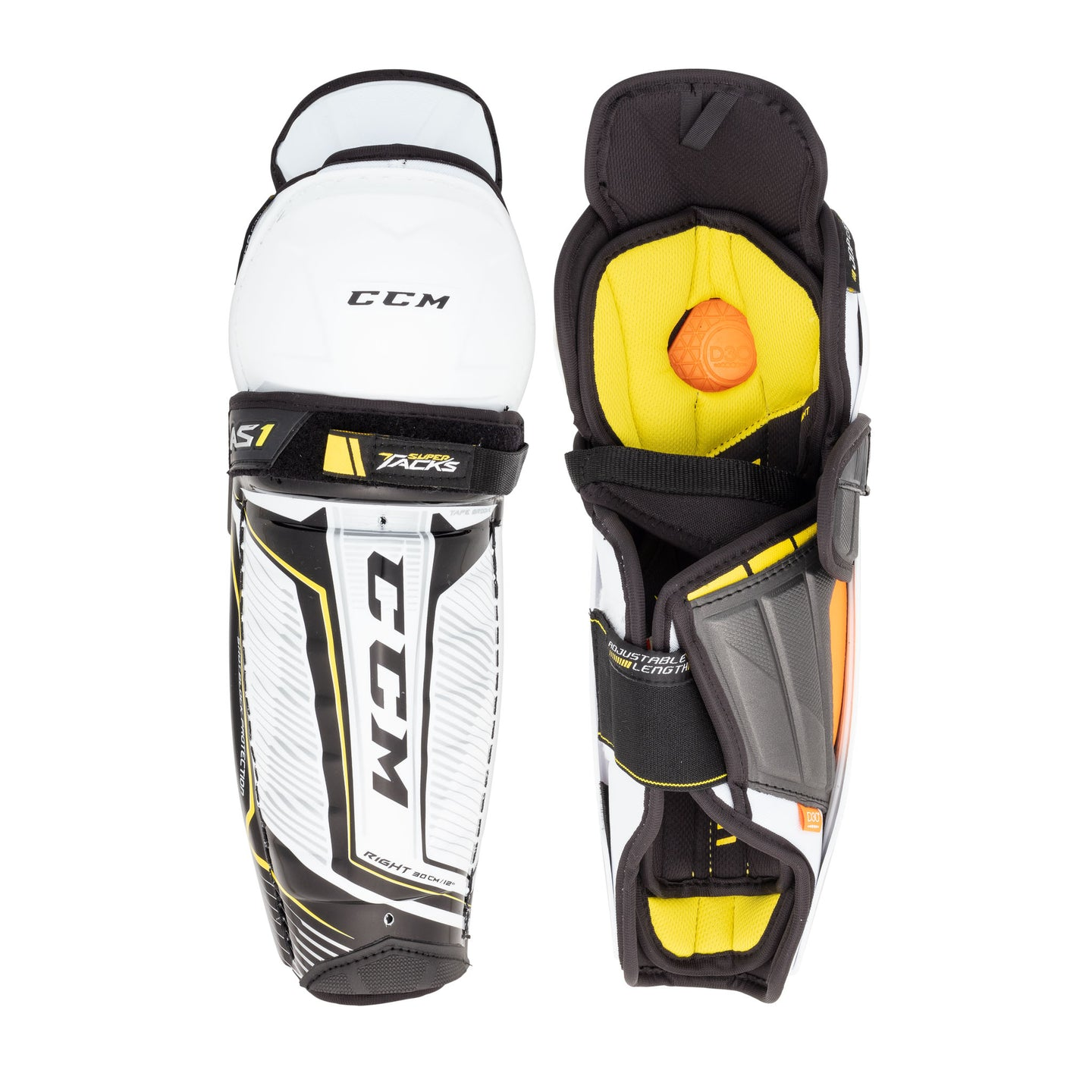 CCM Super Tacks AS1 Junior Hockey Shin Guards