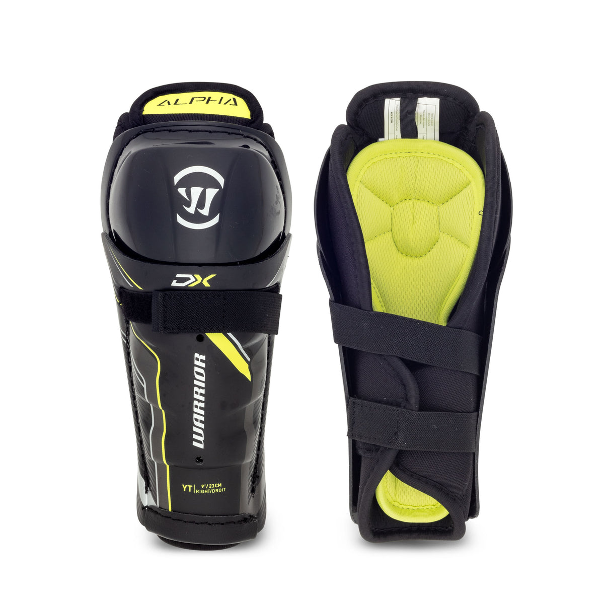Warrior Alpha DX Youth Shin Guards